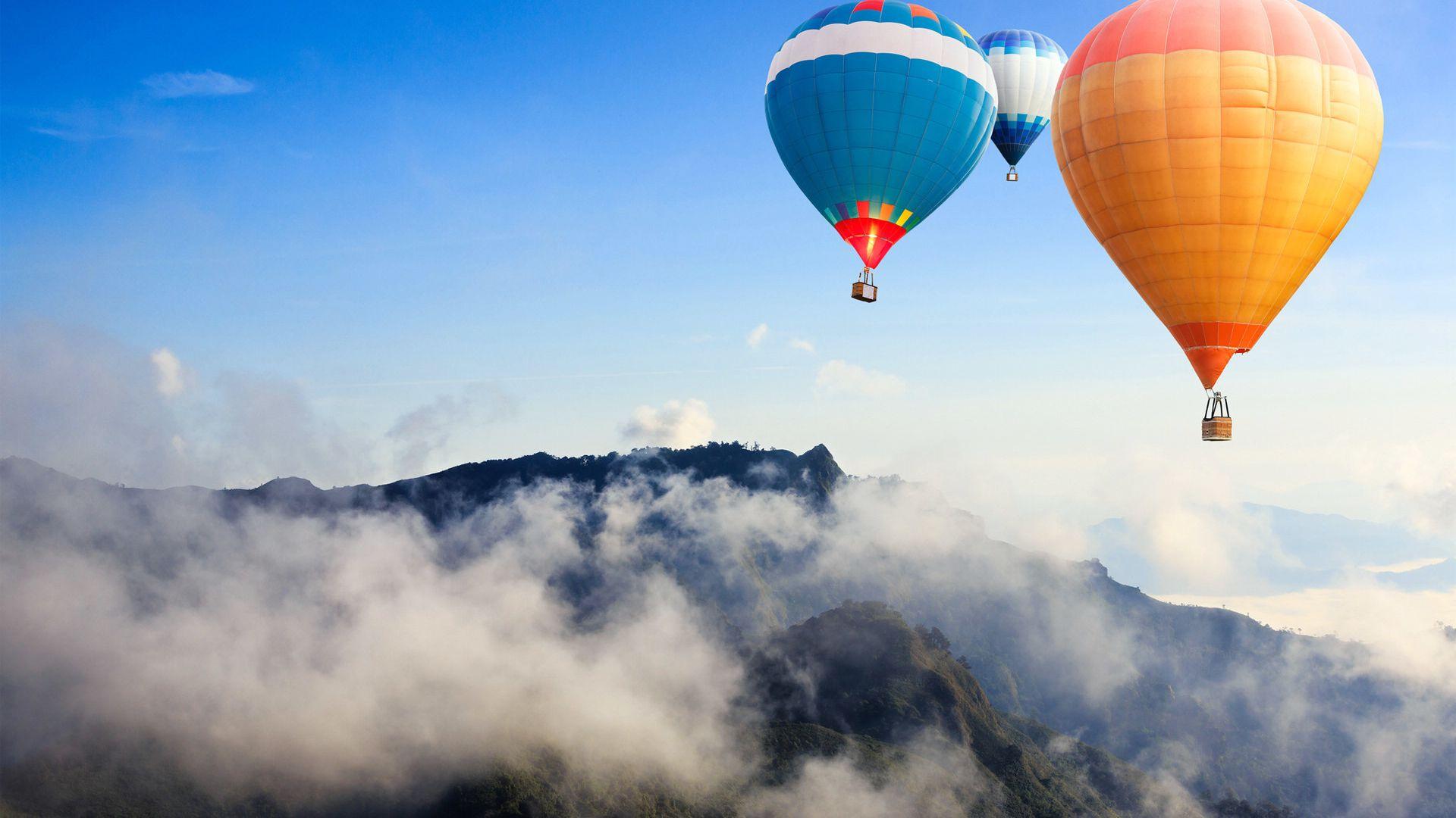 热气球团建